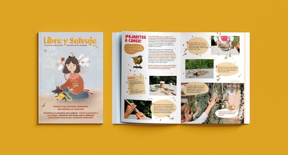 Revista infantil Libre y Salvaje