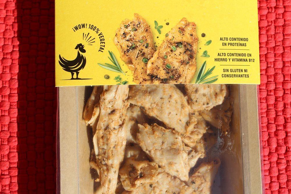 Recetas veganas que imitan recetas con carne animal