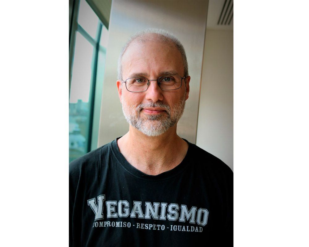 """Jordi Casamitjana: """"El veganismo no es solo una dieta. No es solo una opinión, ni una tendencia"""""""
