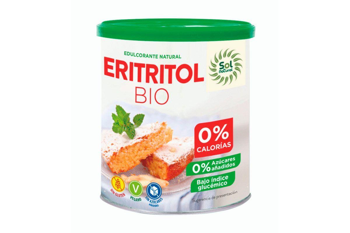 Eritritol - Endulzante 100% natural con 0% calorías, de Sol Natural