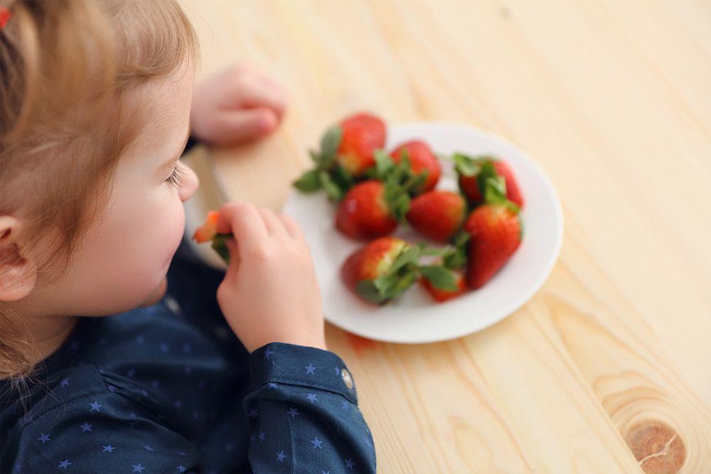 Niños veganos en los comedores escolares