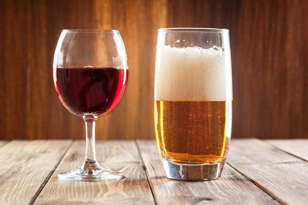 veganos y alcohol
