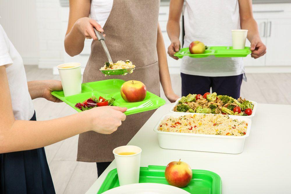 ¿Cómo pedir un menú vegano escolar?