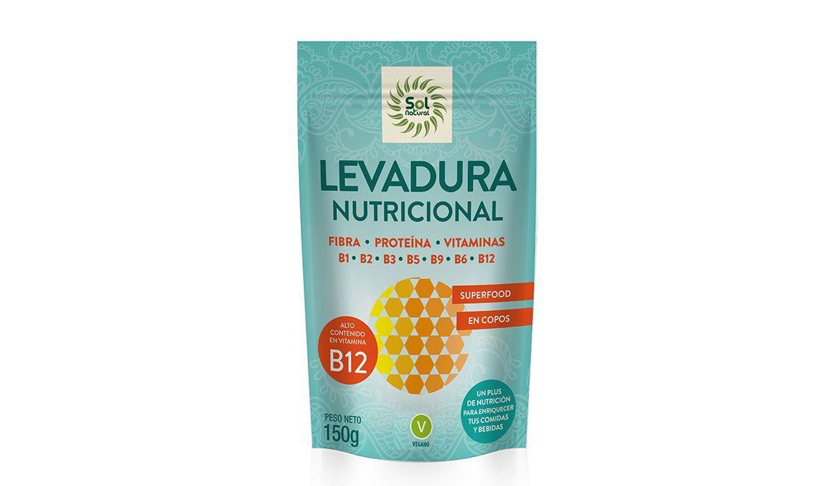 Levadura Nutricional Sol Natural